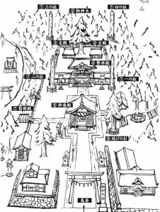 諏訪大社 御朱印 マップ3